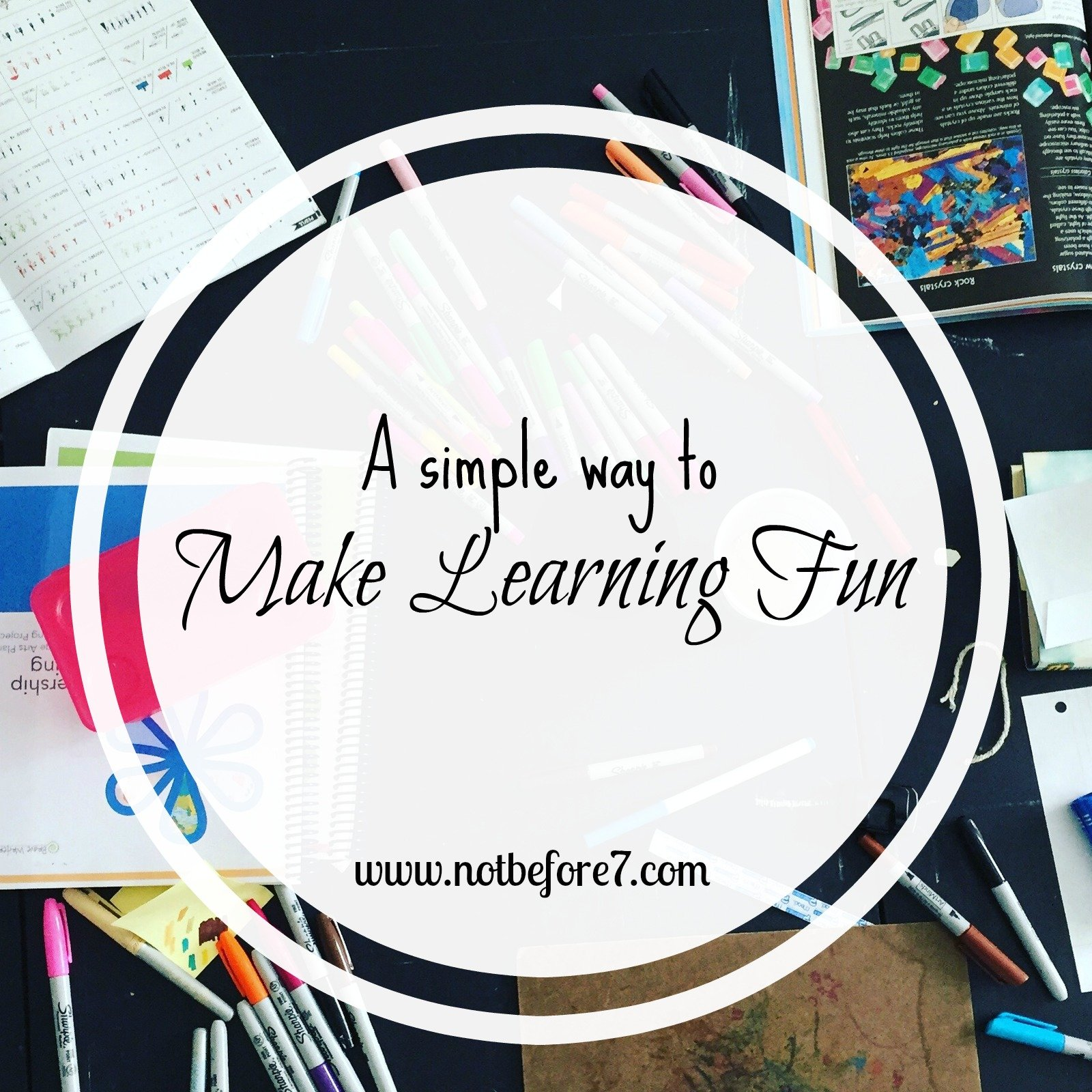 Make Learning Fun: One Simple Idea