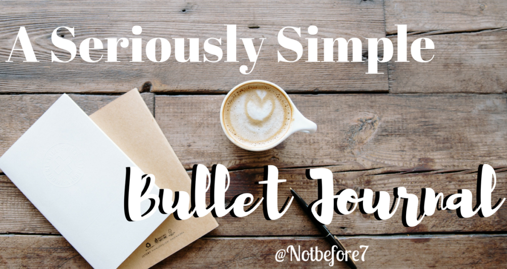 I finally came up with a Bullet Journal method that works for me. Click her to read how you can create a seriously simple bullet journal layout.