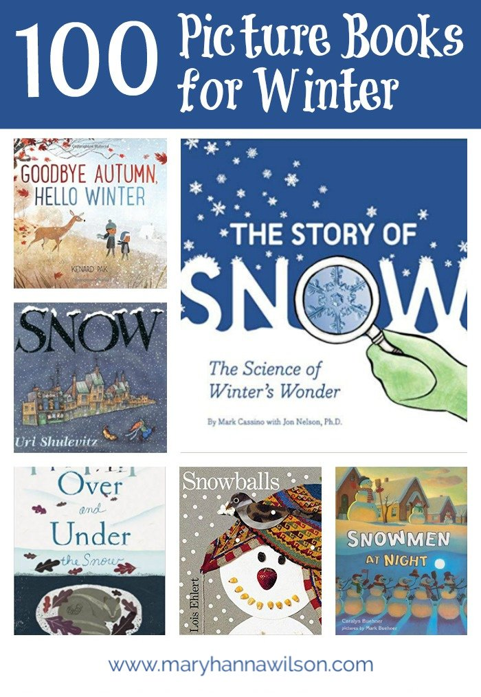 100 of the best picture books for winter