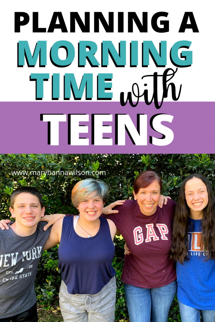 Morning Basket with Teens