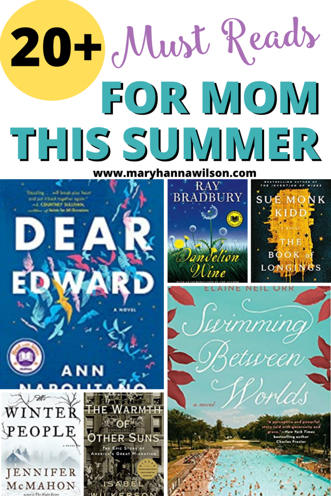 Fantastic booklist for mom this summer.