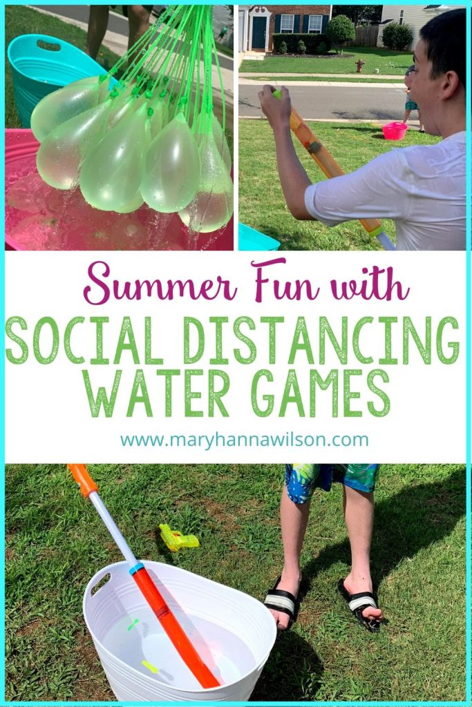Enjoy social distancing water games with these fun ideas.