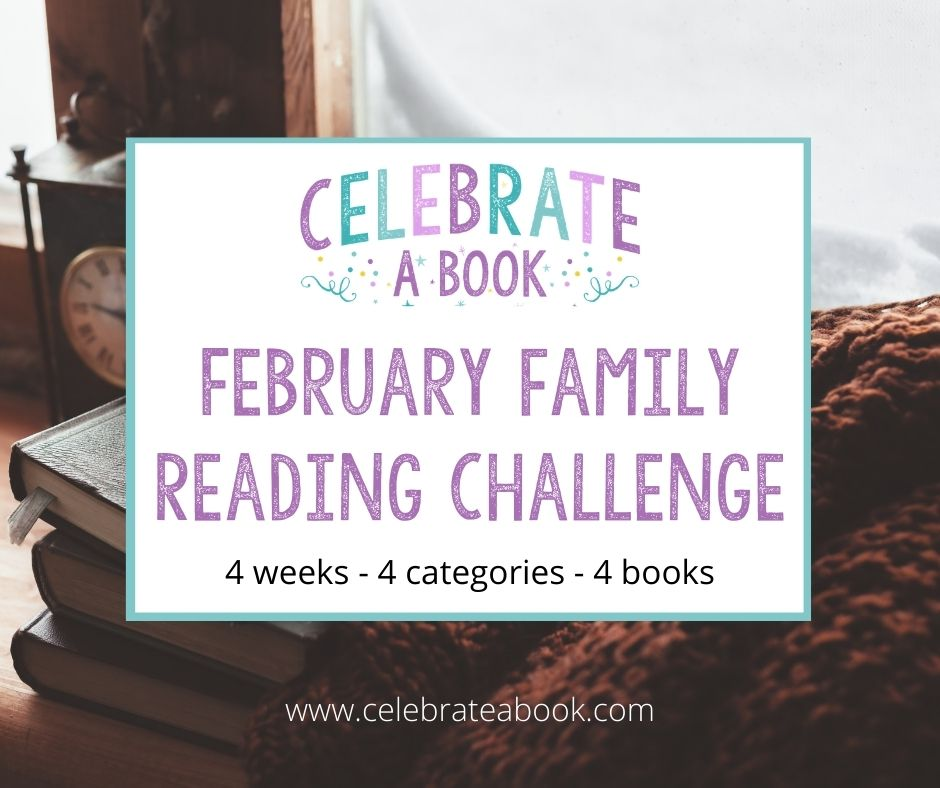 A collection of books and printables for the February Reading Challenge