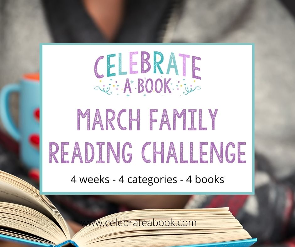 Bookslists and printables for the March Family Reading Challenge