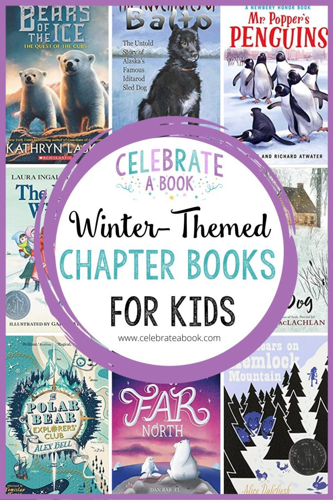 A huge list of winter themed chapter books for kids.
