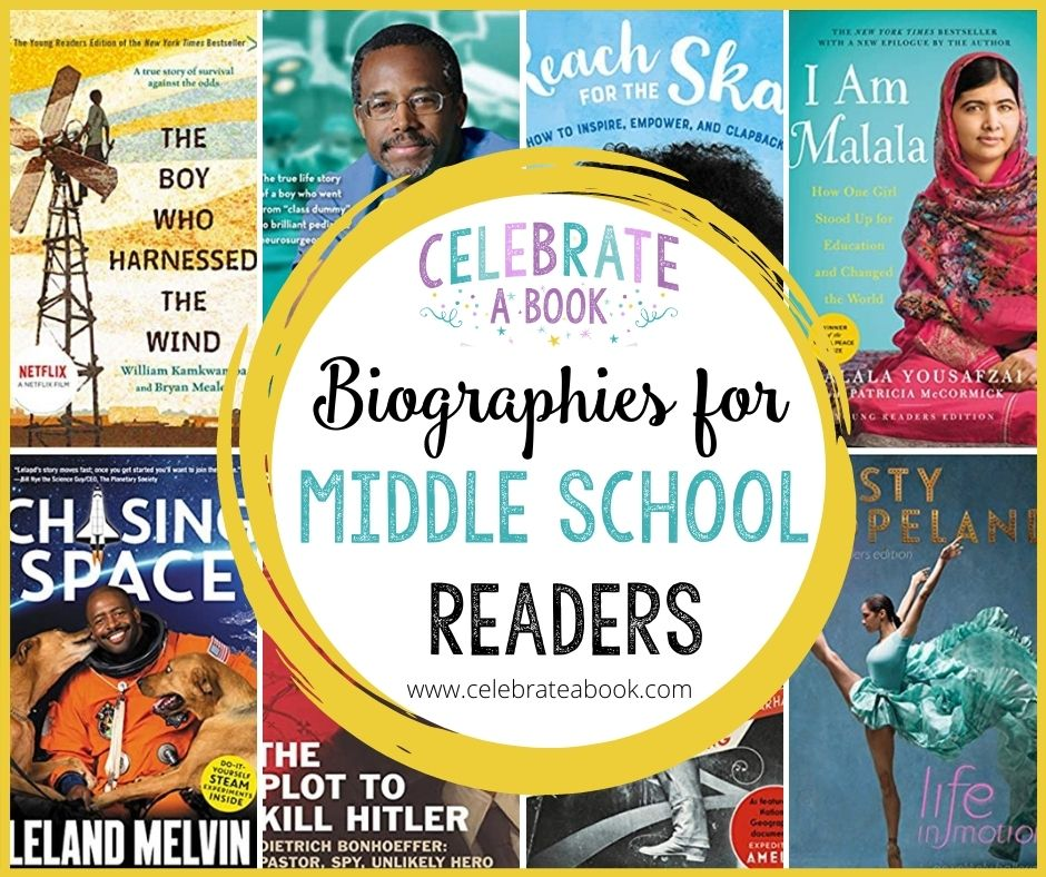 These middle school biographies are perfect to inspire your teen or tween.