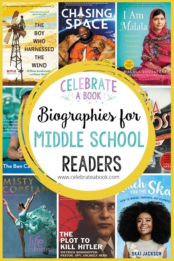 The Best Middle school biographies for your tween and teen.