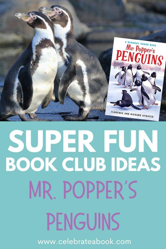 Super fun Book Club Activities for Mr. Popper's Penguins