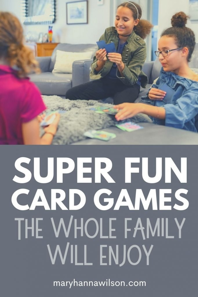 Super Fun Card Games the Whole Family Will Enjoy
