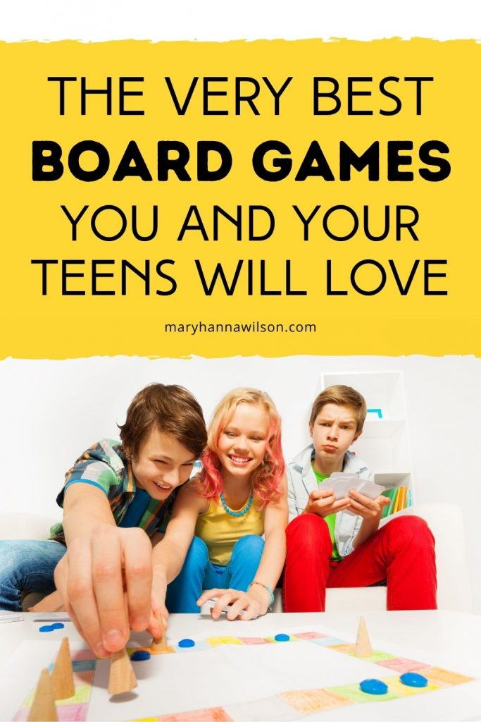 The Very Best Board Games You and Your Teens Will Love