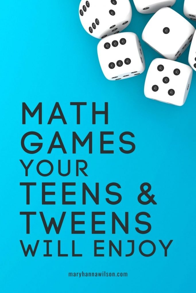 Math Games Your Teens and Tweens Will Enjoy