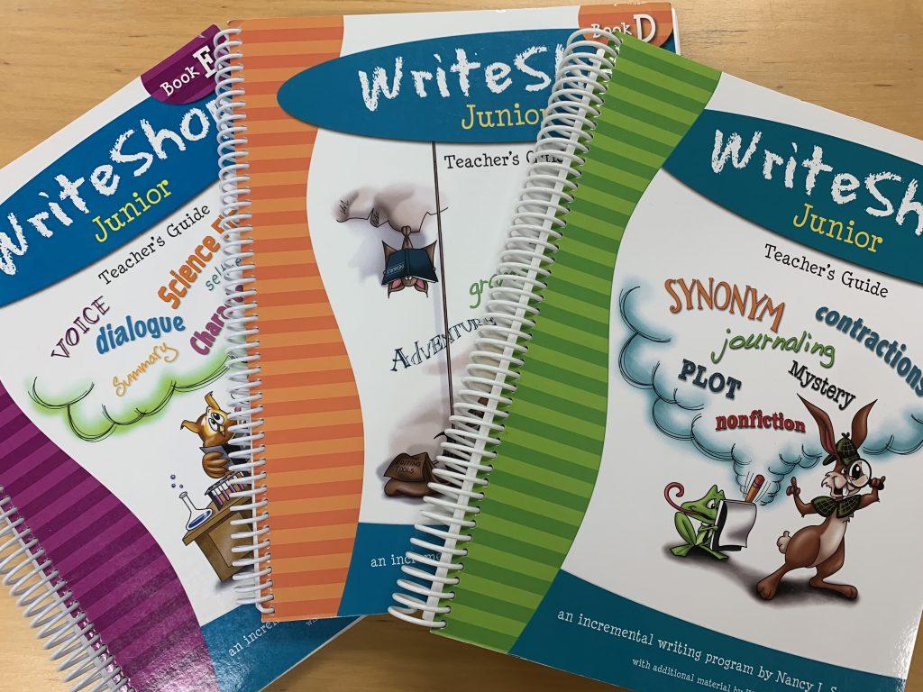 Homeschool Writing With Teens using WriteShop Junior Guides